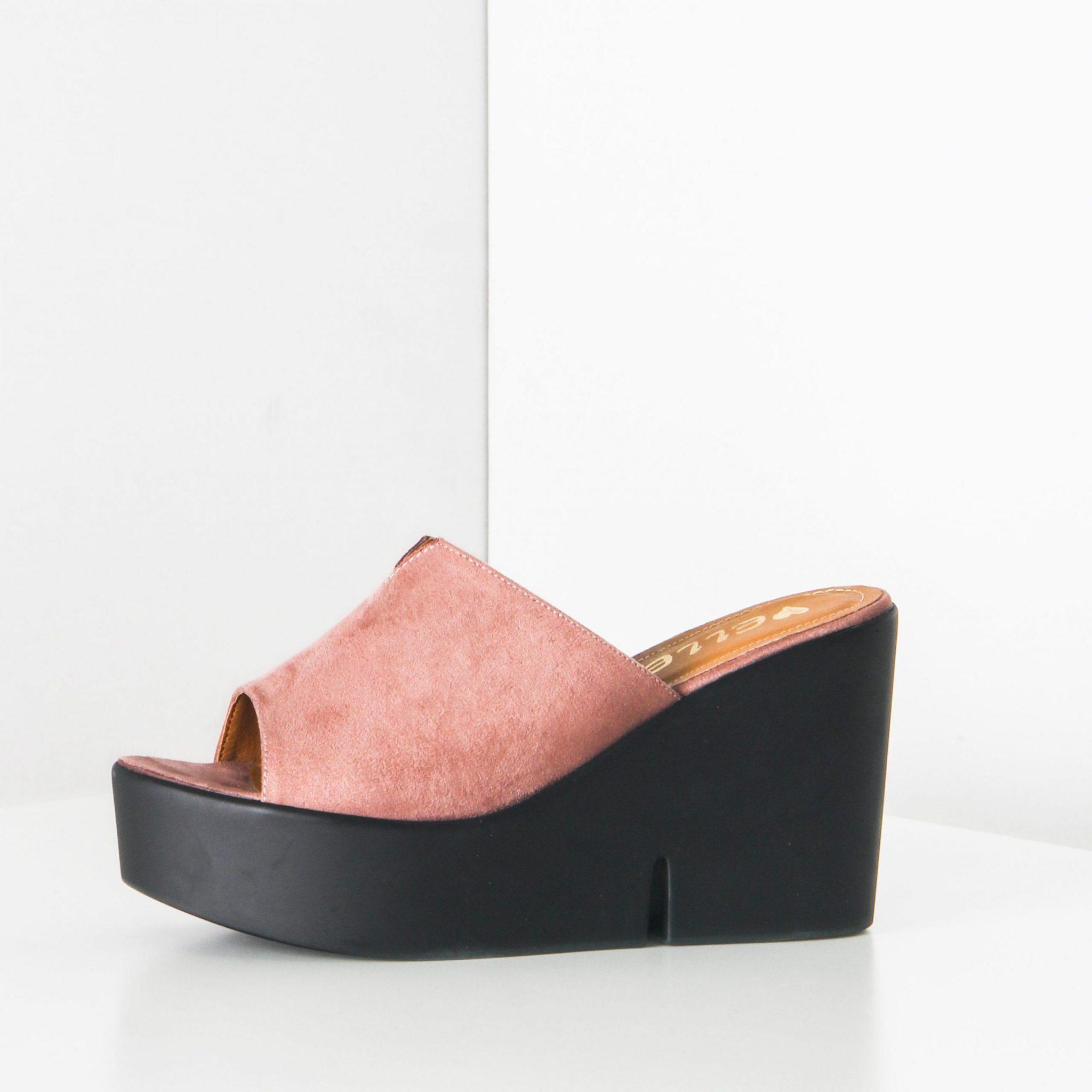 Womans rose bleu marine tressé cordons Sandale 3 par Wanna MODA ESPANOL Tailles 3.5 7 7.5